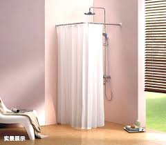 Chrome Curved Shower Curtain Rod Wall Mounted Shower Curtain Rod Primedfw Com