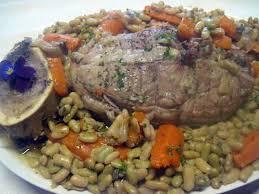 cuisiner des flageolets recette d épaule de veau sans os aux flageolets et carottes