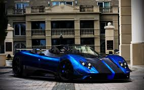 blue pagani pagani zonda cinque roadster by marko0811 on deviantart