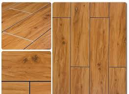 wood look porcelain tile vs wood floors spot the difference