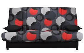 canap clic clac noir canapé lit clic clac couleur noir gris et montaigne