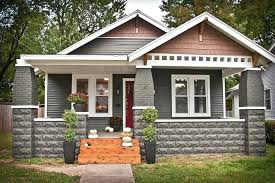 bungalow style brick craftsman bungalow style homes associates inc spring glen