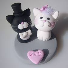 wedding cake model cake model topper cat and groom figuras