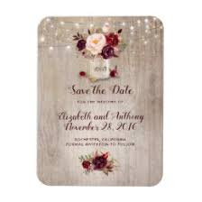 rustic save the date magnets rustic save the date refrigerator magnets zazzle