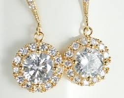 yellow gold earrings yellow gold earrings etsy