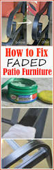 Best Patio Furniture Covers For Winter - how to fix faded aluminum patio furniture using just one common