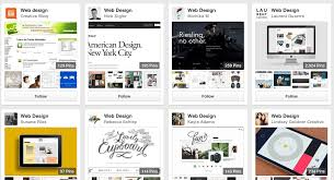 pinterest design ideas looking for web design ideas here s where to start