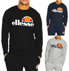 ellesse new mens hoodies or sweatshirt tops or jogging bottoms