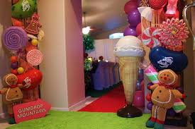 candyland party supplies kara s party ideas willy wonka s winter party ideas