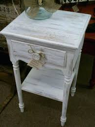 distressed white side table side tables distressed side table distressed white side table