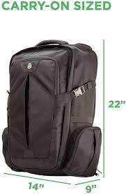 amazon com tortuga travel backpack 44l maximum sized carry on
