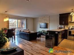 modele de cuisine ouverte sur salon modèle décoration cuisine et salon aire ouverte