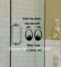 Bathroom Door Stickers Custom Stickers For Glass Doors U2013 Custom Vinyl Decals