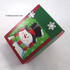 christmas gift card boxes turn a christmas card box into a gift box