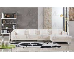 Sectional Sofa Sale Free Shipping by Contemporary 3pcs White Right Chaise Sectional Sofa Set
