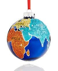 glass globe ornament created for macy s