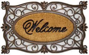 halloween doormat a1 home collections llc welcome doormat u0026 reviews wayfair