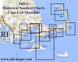 Map Of Cape Cod Massachusetts old nautical charts ipswich bay to gloucester harbor