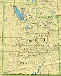 Physical Map United States by Utah Physical Map