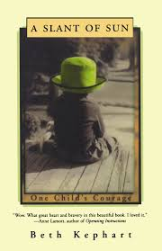 a slant of sun one child u0027s courage beth kephart 9780393340983