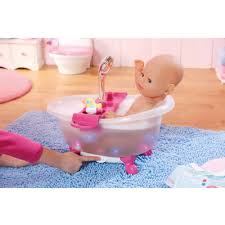 baby born interactive bathtub with duck walmart com
