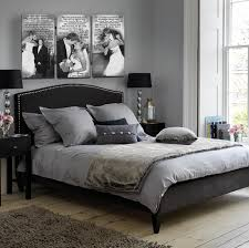 Black And White Bed Love This Idea For Printing Your Wedding Photos Perfect For Above