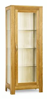 solid oak china cabinet milano solid oak glass display cabinet