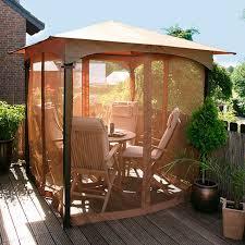 balkon pavillon insektenschutznetz für pavillon terrazzino gärtner pötschke