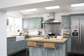 Modern Country Style Hj001 15 Modern Country Style Kitchen With Pastel Blu
