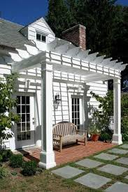 Image Of Pergola by 1000 Ideas About Front Porch Pergola On Pinterest Pergolas Front