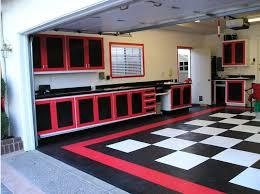 Garage Organization Business - racedeck garageflooring makes for some cool garages like this one