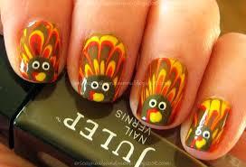 thanksgiving nails turkey stylefrizz photo gallery