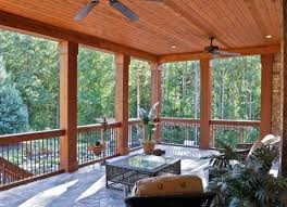 Pergola Top Ideas by Covered Deck Ideas Possibility For Top Deck We Do Want Fans