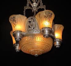Art Deco Lighting Fixtures Vintage Art Deco Lighting Antique Art Deco Light