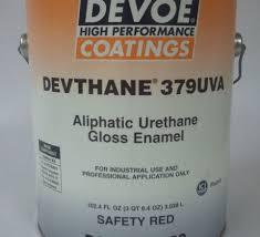 devthane 379uva aliphatic urethane gloss enamel paint