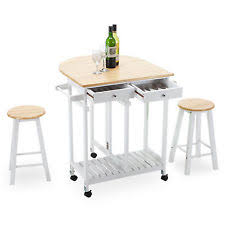 oak kitchen island oak kitchen island cart trolley storage dining table 2 bar stools
