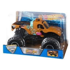 monster jam toy trucks for sale wheels monster jam scooby doo vehicle walmart com