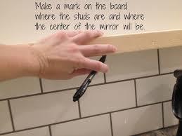 How To Build A Bathroom Vanity by How To Make A Modern U201csunrise U201d Floating Mirror Shelf