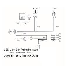 Led Light Bar 12v by Led Light Bar Wiring Diagram How To Wire Led Light Bar Without