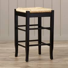 Upholstered Counter Height Bench Bar Stools Threshold Bar Stools Wood And Metal Counter Chairs