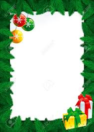 christmas card with empty blank for text vector christmas card