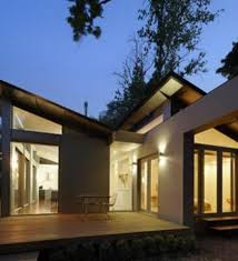 Small  Story Houses Example Of A Two Story Small Lot Modern One - 1 story home designs