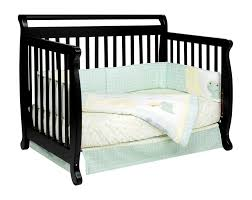 Baby Cribs 4 In 1 Convertible by Davinci Emily 4 In 1 Convertible Baby Crib In Ebony W Toddler