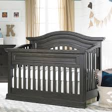 Designer Convertible Cribs Maximo Convertible Crib In Roast And Nursery Necessities In