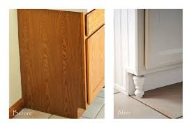 Kitchen Cabinets With Feet Make Your Own
