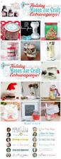 holiday mason jar crafts