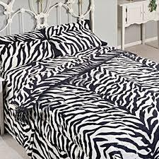 Zebra Print Duvet Cover Zebra Print Pillowcases