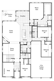 Floor Plans For 1 Story Homes New Home Plan 243 In Humble Texas 77346