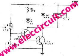 daylight sensor switch circuit control artificial waterfall