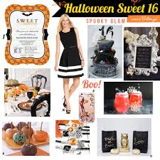how to plan a halloween sweet 16 at home